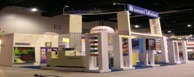 Azure's Booth in Exhibition